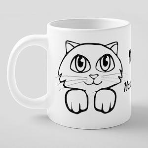 masterwork name Mona 20 oz Ceramic Mega Mug