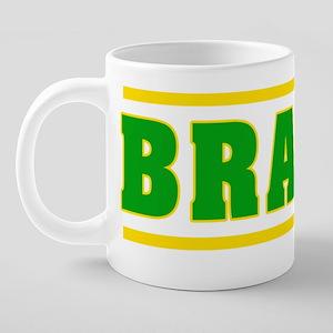 Brazil 20 oz Ceramic Mega Mug