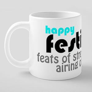 2-FESTIVUS™ 20 oz Ceramic Mega Mug
