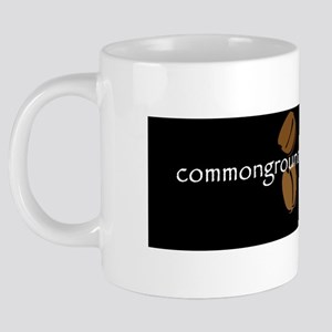 commongroundsdotorgblackbac 20 oz Ceramic Mega Mug