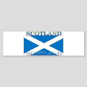 Scotland Scottish Flag Bumper Sticker