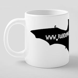 rwo bat opq 20 oz Ceramic Mega Mug
