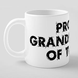 proudgrandmother222 20 oz Ceramic Mega Mug