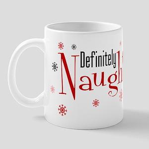 Definitely Naughty Mug