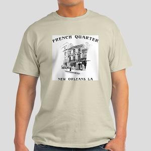 French Quarter Ash Grey T-Shirt