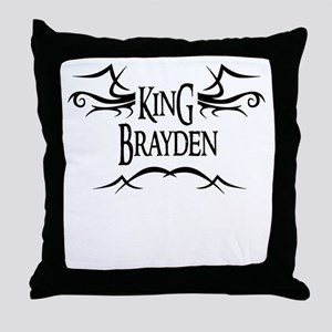 King Brayden Throw Pillow
