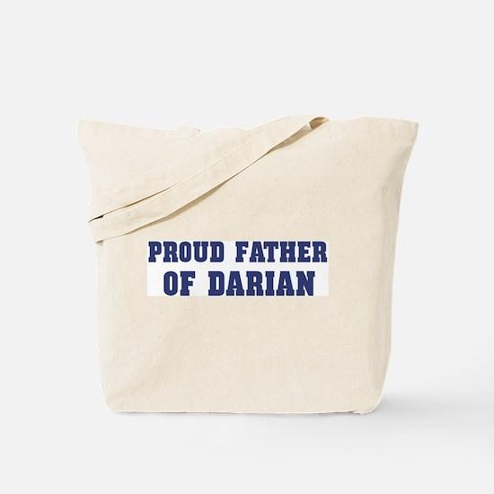 Proud Father of Darian Tote Bag