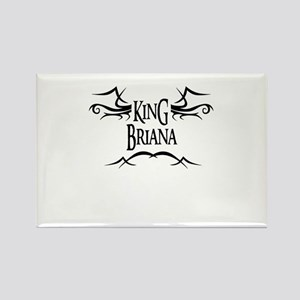 King Briana Rectangle Magnet