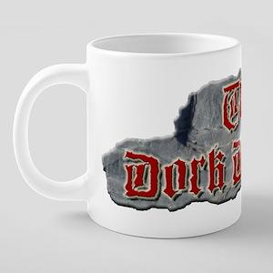 Official Dork Dungeon T-Shi 20 oz Ceramic Mega Mug