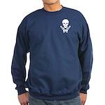 skull & trombones Sweatshirt (dark)