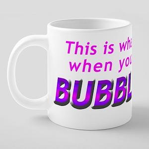 maternity_bubblegum 20 oz Ceramic Mega Mug