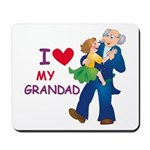 I Love My Grandad Mousepad
