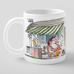 Velmas Camp 20 oz Ceramic Mega Mug