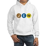 J E W Hooded Sweatshirt