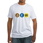 J E W Fitted T-Shirt
