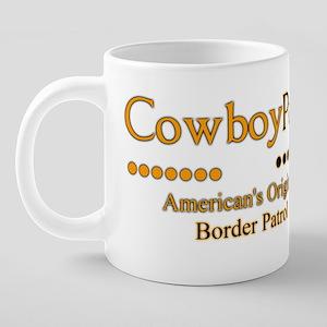Cowboy Posse 20 oz Ceramic Mega Mug