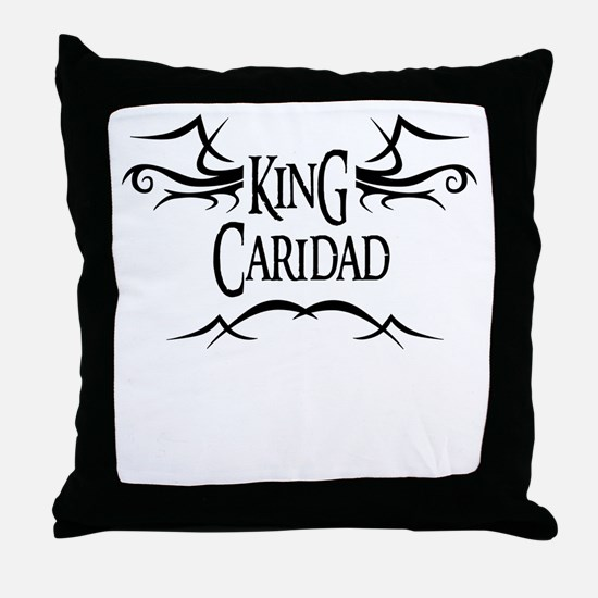 King Caridad Throw Pillow