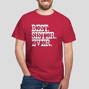 Best Sister Ever Dark T-Shirt