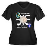 78th ASA SOU Women's Plus Size V-Neck Dark T-Shirt