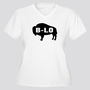 B-LO Women's Plus Size V-Neck T-Shirt