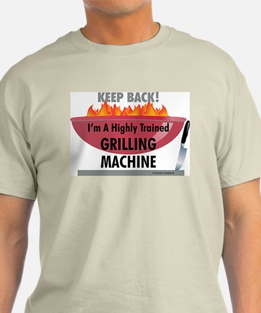 Grilling Machine - T-Shirt