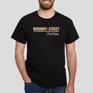 Bourbon Street Black T-Shirt