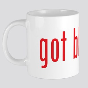 got blood red 20 oz Ceramic Mega Mug