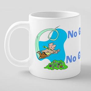 NoGutsHeCoffeeMug 20 oz Ceramic Mega Mug