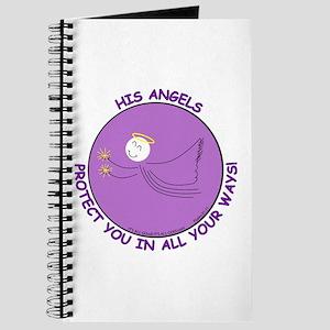 ANGEL PROTECTION PURPLE Journal