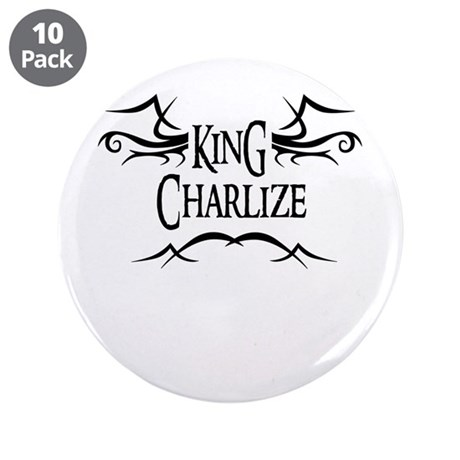 King Charlize 3.5 Button (10 pack)