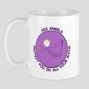 ANGEL PROTECTION PURPLE Mug
