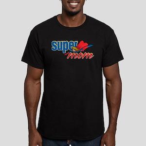 SuperMom Men's Fitted T-Shirt (dark)