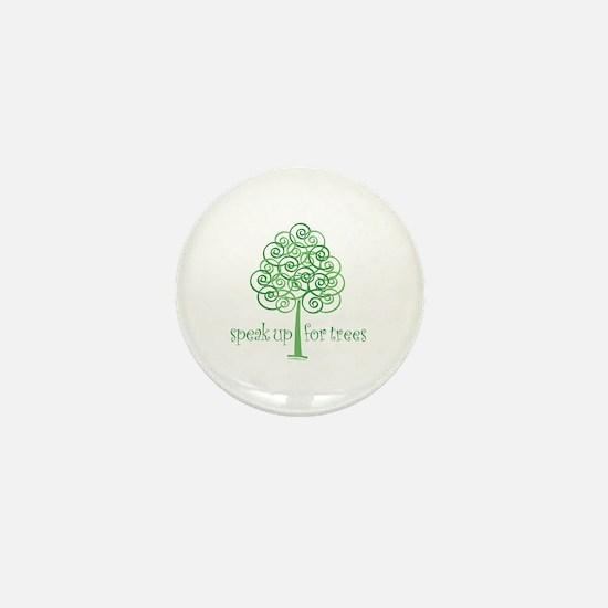 Tree Advocate Mini Button