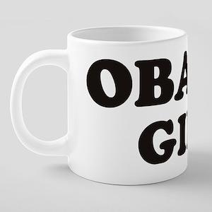 Obama Girl Design 20 oz Ceramic Mega Mug