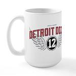 The Detroit Dozen Large Mug
