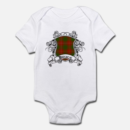 Bruce Tartan Shield Infant Bodysuit