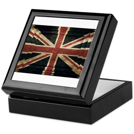 British Flag - Union Jack Keepsake Box