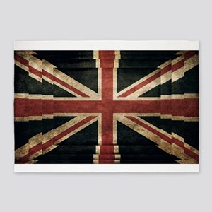 British Flag - Union Jack 5'x7'Area Rug