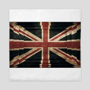 British Flag - Union Jack Queen Duvet