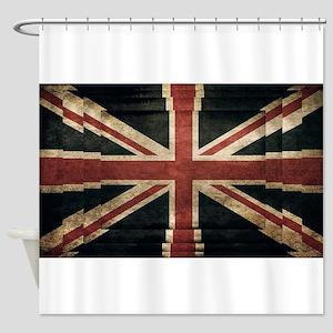 British Flag - Union Jack Shower Curtain