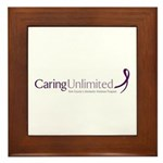 Caring Unlimited Framed Tile