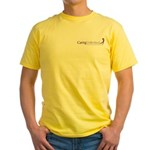 Caring Unlimited Yellow T-Shirt