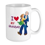 I Love My Grandad Large Mug