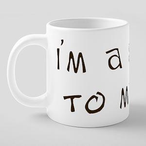 Proclaim your subse... 20 oz Ceramic Mega Mug