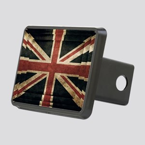 British Flag - Union Jack Rectangular Hitch Cover