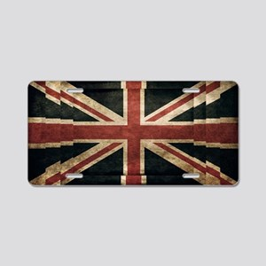 British Flag - Union Jack Aluminum License Plate