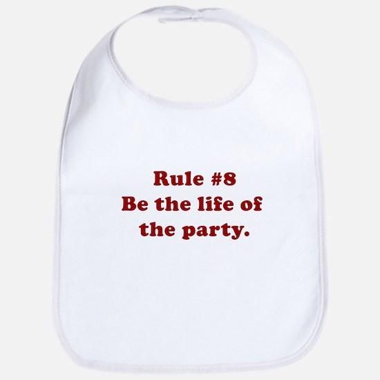 Rule #8 Bib