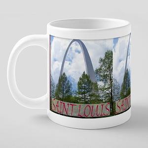 SAINT LOUIS 20 oz Ceramic Mega Mug