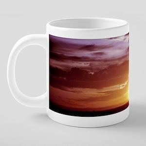 Sunset Phoenix, Arizona a.j 20 oz Ceramic Mega Mug