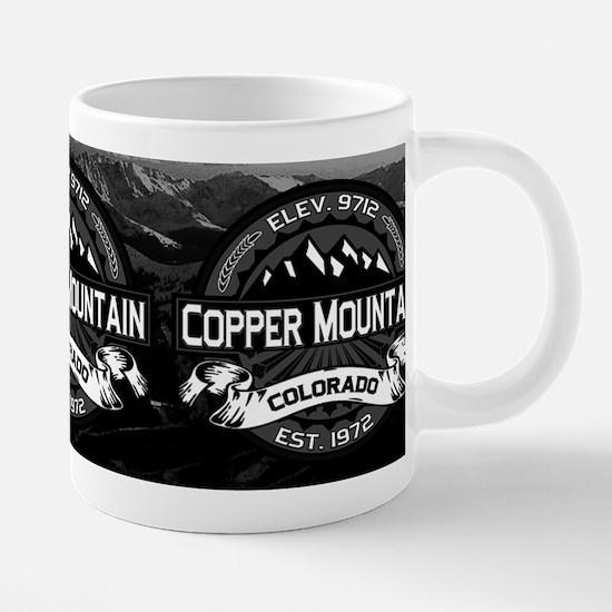 Copper Mountain Grey Mug CP 20 oz Ceramic Mega Mug